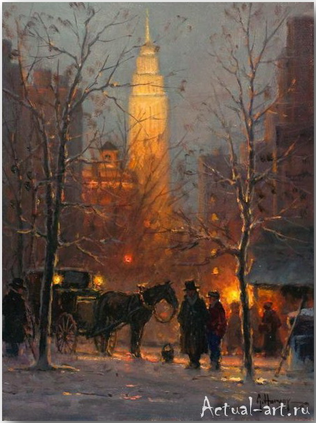 Харви Джонс (Gerald Harvey Jones)_art_Живопись_11