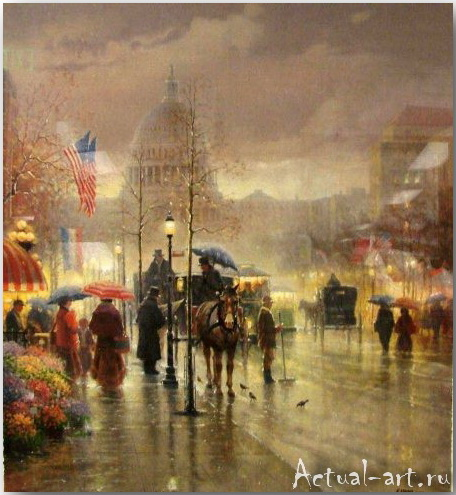 Харви Джонс (Gerald Harvey Jones)_art_Живопись_12