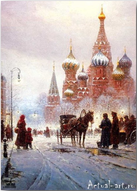 Харви Джонс (Gerald Harvey Jones)_art_Живопись_14