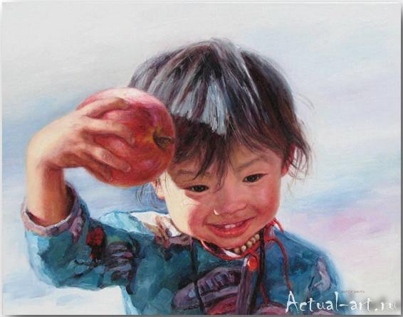 Barry Yang о детской непосредственности