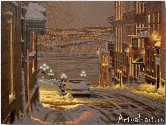 Richard Savoie о русской зиме в Канаде