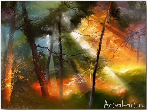 Petras Lukosius о луче света в темном лесу
