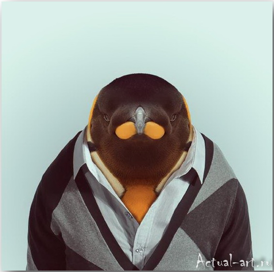 Yago Partal и его анималистический дресс-код