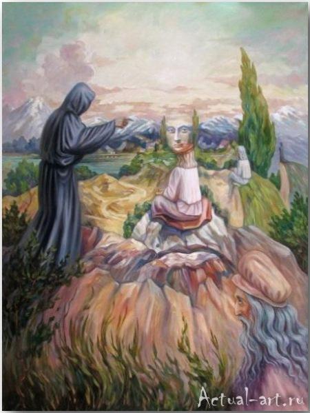 Олег Шупляк и его картины с двойным дном