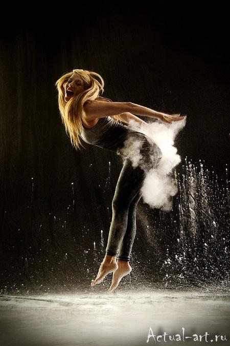 «Танец в пудре»_Геральдина Ламанна (Geraldine Lamanna)_Photography_04