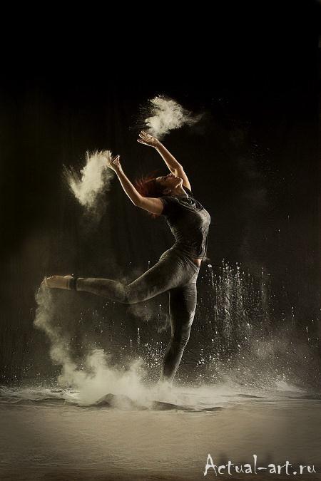 «Танец в пудре»_Геральдина Ламанна (Geraldine Lamanna)_Photography_08