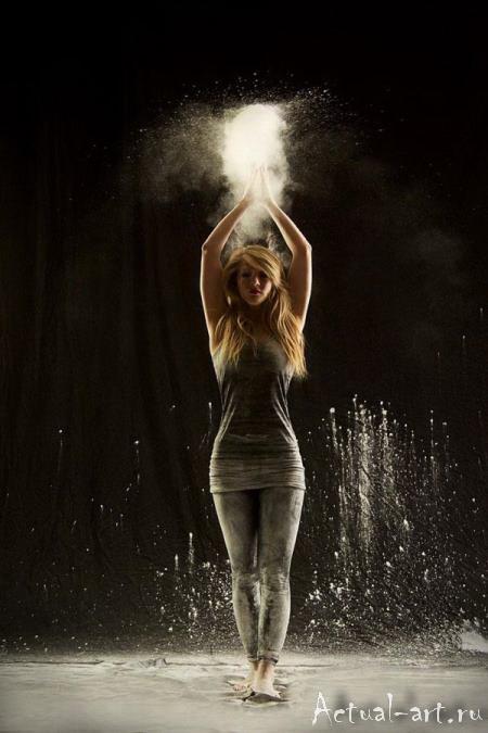 «Танец в пудре»_Геральдина Ламанна (Geraldine Lamanna)_Photography_09