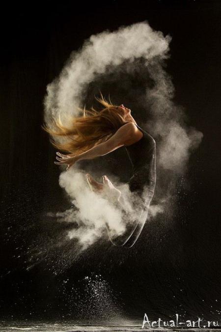«Танец в пудре»_Геральдина Ламанна (Geraldine Lamanna)_Photography_10