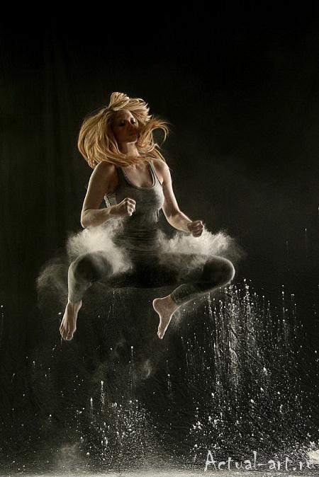 «Танец в пудре»_Геральдина Ламанна (Geraldine Lamanna)_Photography_14