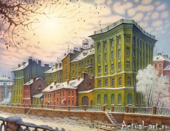 Сказочный Санкт-Петербург Владимира Колбасова