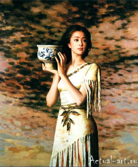 Се Чую (Xie Chuyu)_art_Живопись_08