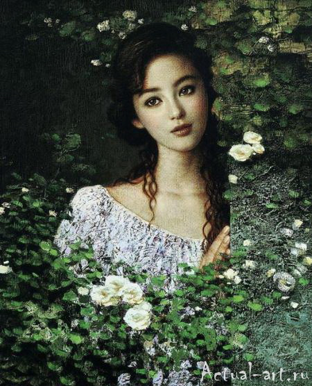 Се Чую (Xie Chuyu)_art_Живопись_14